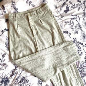 Urban Outfitters High Waisted Linen Pants | Size 4